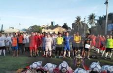 Inauguran festival deportivo del Club de Negocios de Vietnam en Camboya