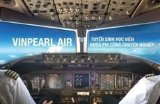 Escuela de Vingroup inscribe a estudiantes de su primer curso para pilotos y especialistas de la aviación