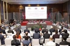 Destacan papel parlamentario en cooperación en el Área del Triángulo de Desarrollo Camboya-Laos-Vietnam