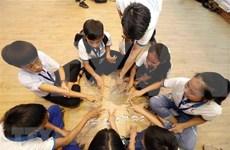 Dialogan niños vietnamitas con dirigentes nacionales durante foro infantil
