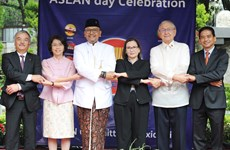 Celebran en México el 52 aniversario de la fundación de la ASEAN
