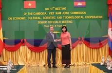 Discuten Vietnam y Camboya el contenido de la XVII Reunión del Comité Mixto