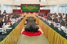 Inauguran reunión de altos funcionarios del Comité de Cooperación Vietnam-Camboya