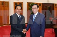 Recibe viceprimer ministro vietnamita al vicepresidente de la Asamblea Nacional de Laos