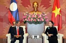 Robustecen cooperación entre parlamentos entre Vietnam y Laos