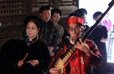 Promueven en Vietnam canto ceremonial Ca Tru, Patrimonio Cultural Intangible de la Humanidad