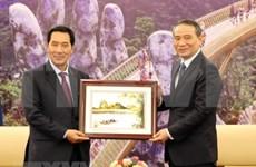 Vicepresidente de Asamblea Nacional de Laos visita Da Nang