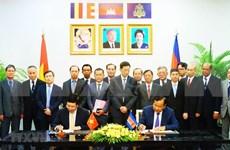 Fomentan Vietnam y Camboya cooperación multifacética