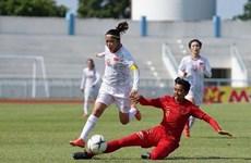 Vietnam encabeza Grupo B del Campeonato Femenino regional de fútbol