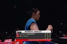 Logra badmintonista vietnamita victoria en Campeonato Mundial de Bádminton