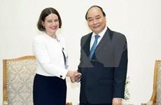 Recibe primer ministro vietnamita a nueva embajadora australiana