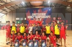 Gana Vietnam medallas de oro en Campeonato Mundial de Jian Zi