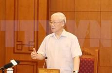 Celebran reunión sobre trabajo de personal para próximo Congreso del Partido Comunista de Vietnam