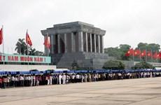 Visitaron casi 58 millones de personas el Mausoleo de Ho Chi Minh