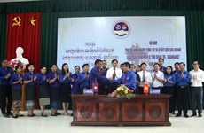 Intensifican organizaciones juveniles de Vietnam y Laos intercambio de experiencias