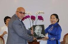 Desea Ciudad Ho Chi Minh intercambiar experiencias con Cuba en gestión económica y atención médica