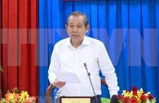 Realiza vicepremier visita de trabajo en provincia de Quang Ninh