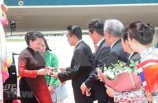 Llega presidenta de Vietnam a Tailandia para asistir a Asamblea General 40 de AIPA