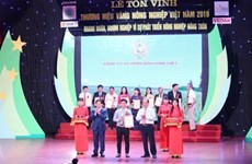 Otorgan Etiqueta de Oro a 75 marcas del sector agrícola vietnamita