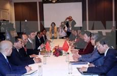 Presidenta del Parlamento vietnamita se reúne con su homólogo marroquí