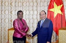 Destaca premier de Vietnam potencialidades de cooperación con Botsuana