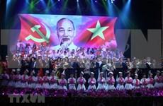 Recuerda programa artístico legado de Presidente Ho Chi Minh