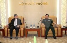 Recibe ministro de Defensa de Vietnam a secretario general de ASEAN