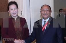 Robustecen nexos entre Parlamentos de Vietnam y Camboya