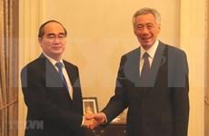 Aspira Singapur a promover cooperación integral con Ciudad Ho Chi Minh
