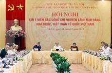 Recogen opiniones acerca de documentos del XIII Congreso del Partido Comunista de Vietnam