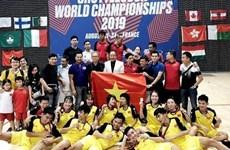 Triunfa equipo vietnamita en el Campeonato Mundial de Jianzi  2019