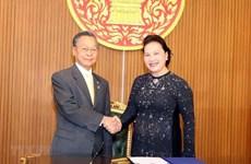 Consolidan Vietnam y Tailandia cooperación parlamentaria