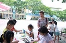 Lanza Dinamarca concurso de pintura para niños vietnamitas