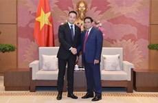 Invita Parlamento vietnamita a jóvenes diputados japoneses a visitar el país en enero próximo