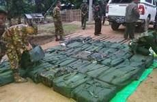 Incauta Myanmar unos 800 kilógramos de metanfetamina