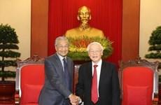Prioriza Vietnam asociación estratégica con Malasia, afirma máximo dirigente