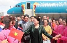 Presidenta del Parlamento vietnamita visita provincia tailandesa de Udon Thani