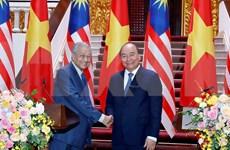 Reafirman Vietnam y Malasia compromiso de fortalecer asociación estratégica