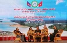 Efectúan intercambio amistoso tropas guardafronteras de Vietnam y Camboya