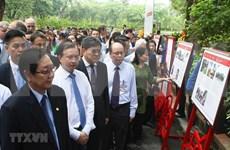 Exhiben en Vietnam archivos nacionales e internacionales sobre el Presidente Ho Chi Minh