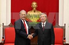 Realzan nexos entre Partido Comunista de Vietnam y Partido del Trabajo de México