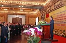 Ofrece Ciudad Ho Chi Minh banquete a invitados extranjeros por el Día Nacional