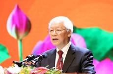Ceremonia nacional marca 50 años de la implementación el testamento del Presidente Ho Chi Minh