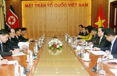 Refuerzan Vietnam y Corea del Norte cooperación en actividades sindicales