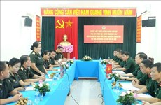 Intercambian experiencias tribunales militares de Vietnam y Laos