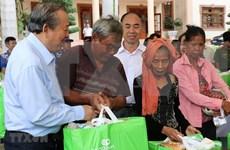 Vicepremier vietnamita visita etnias minoritarias en Binh Phuoc