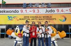 Vietnam gana oro en Mundial de Artes Marciales Chungju 2019 en Corea del Sur
