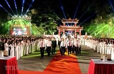 Programa televisivo en vivo marca medio siglo de cumplimiento de Testamento de Ho Chi Minh