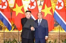 Líder norcoreano Kim Jong-un aspira a consolidar relaciones con Vietnam
