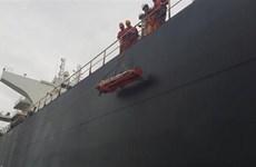 Rescatistas vietnamitas salvan a marino chino herido en mar